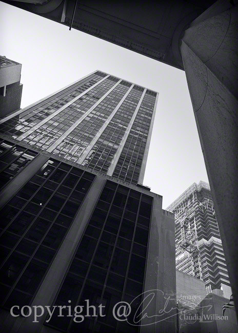 Architecture photo, NYC photos, black &white photo, 5x7""