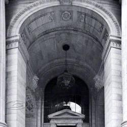 NYC photos Architecture Photo Public Library black &amp; white 8x12&amp;quot;