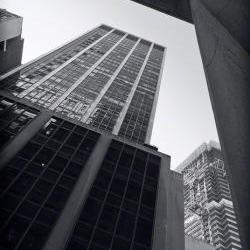 Architecture photo, NYC photos, black &amp;white photo, 5x7&amp;quot;